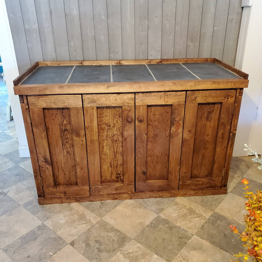 Large Cabinet with Stone Top
