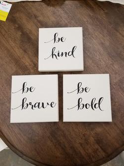 Be Kind Block Set