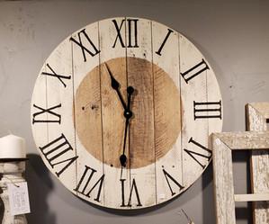 "24"" Pallet Clock, Roman Numerals"