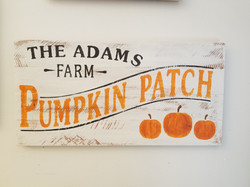 Pumpkin Patch Name
