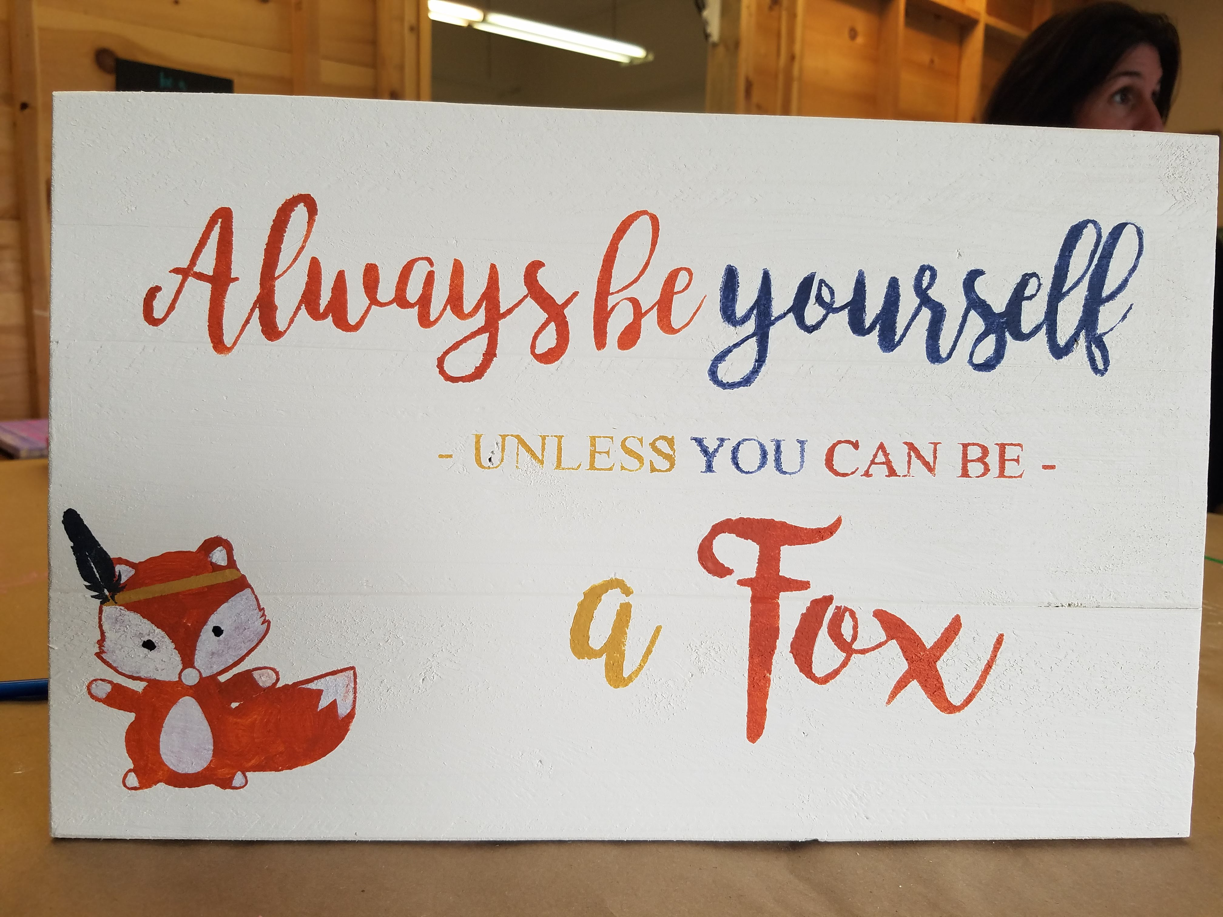 Always Be a Fox