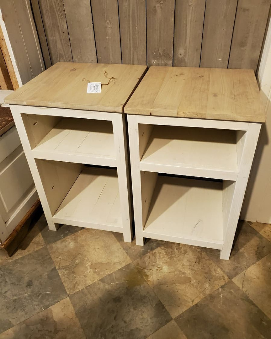 Pair of Endtables