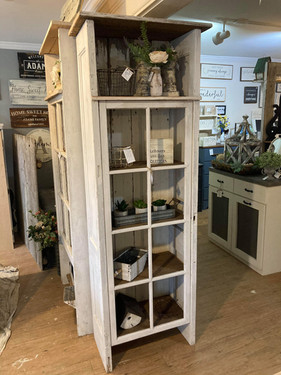 Tall Window Cabinet