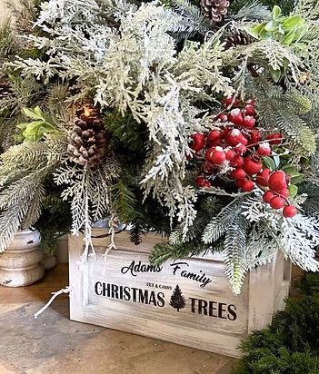 Custom Name Cut & Carry Christmas Trees