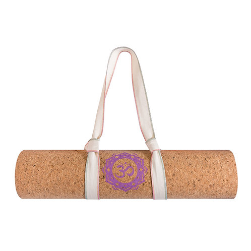 Cotton Yoga Mat Sling With Multicolor Overlocking