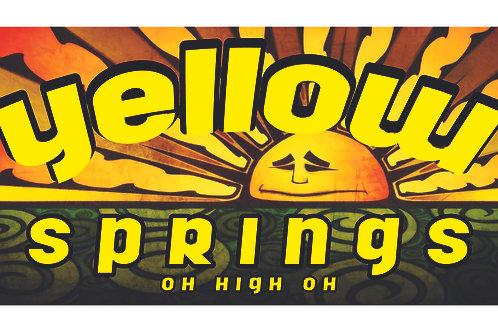 Yellow Springs Bumper Sticker