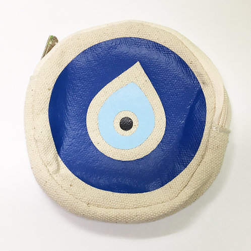 Evil Eye Coin Pouch
