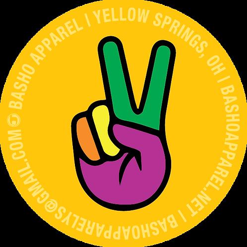 2 inch Peace Sign Sticker