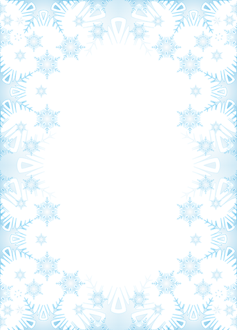 Frost Background Border