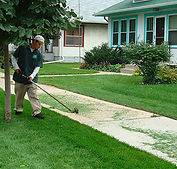 Commercial Lawn Edging Service
