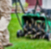 Commercial Lawn Aeration Service