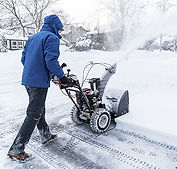 Commercial Snow Blower Service