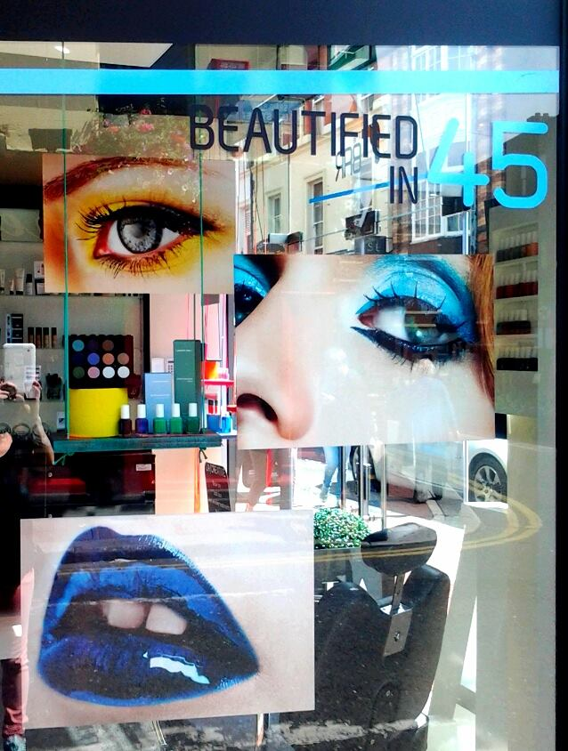 LA Makeup Summer window