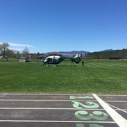 dhart helicopter landing