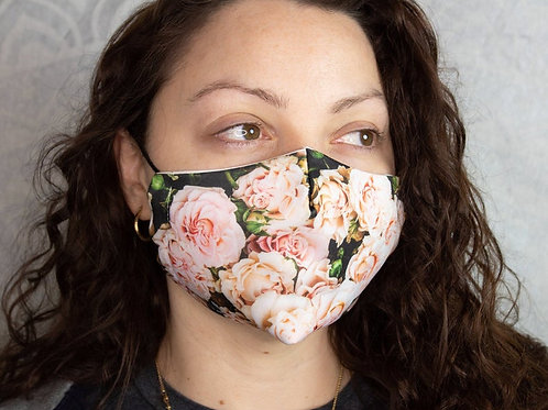Roses and Flowers Reusable & Breathable Face Mask Covering