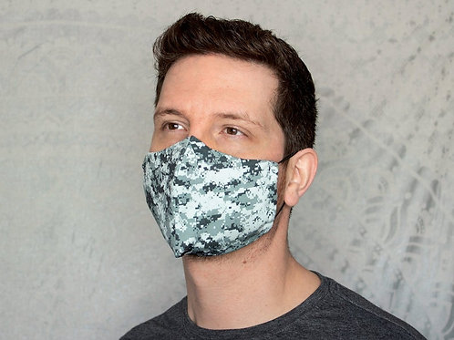 Camo Print Collection Reusable & Breathable Face Mask Covering