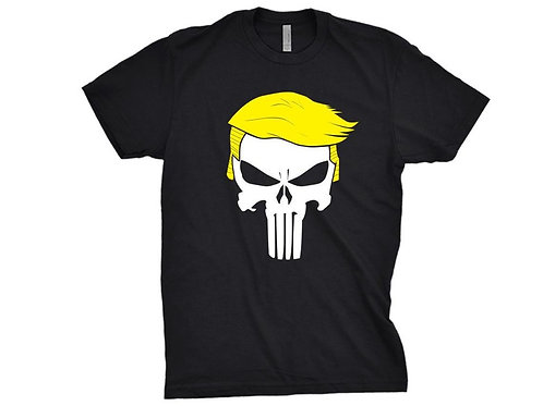 Trump Tshirt - Funny Trump PUNISHER Shirt for Republican Mens or Ladies
