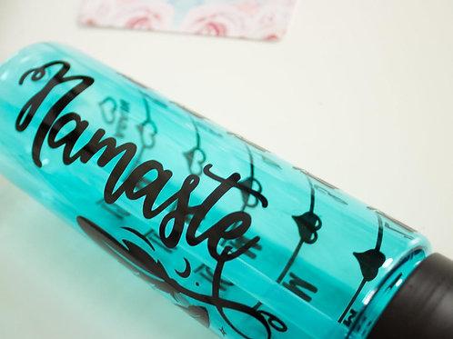 Namaste Water Bottle - Water Intake tracker - Water tracker Bottle