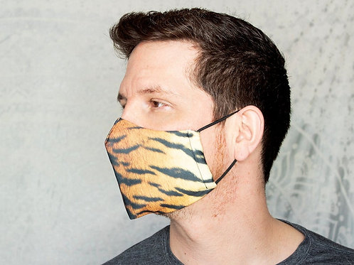 Big Cats Animal Patterns Print Reusable & Breathable Face Mask Covering