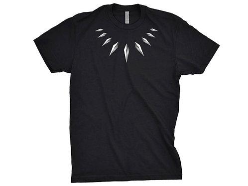 Black panther necklace - Wakanda superhero tshirt - Adult or Youth Sizes