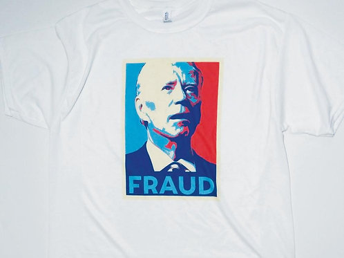 Funny Joe Biden Parody Hope Poster Fraud 2020 tshirt - Biden tee Sublimated