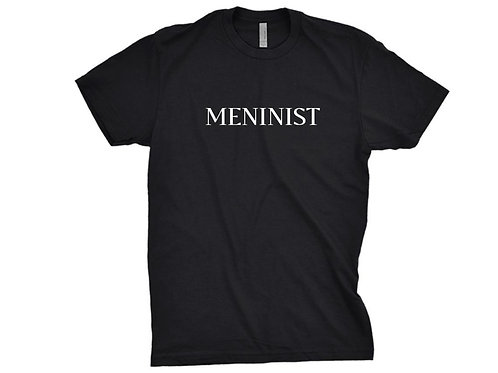 MENINIST Tshirt - Minimalist Typography Print tee Gift for Boyfriend