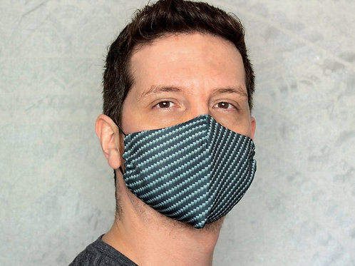 Carbon Fiber Reusable & Breathable Face Mask Covering