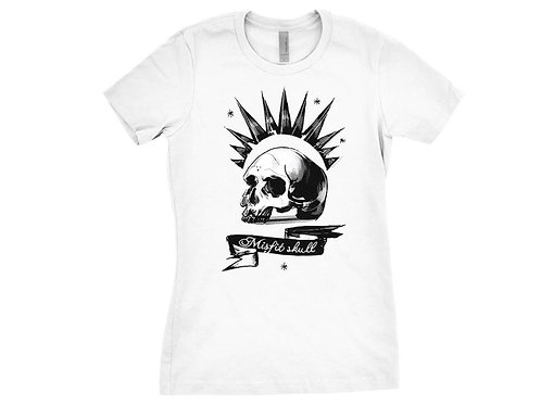 Chloe Price Shirt Misfit Skull Or Illuminati Design Cosplay Screen Printed