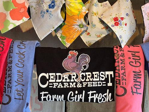 """Farm Girl Fresh"" S/S tee shirt"