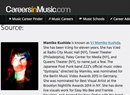 VJ Mamiko Kushida Interview on CareersInMusic.com