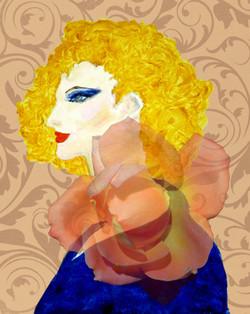 In Full Bloom Blonde