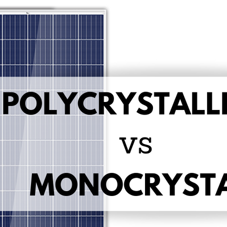 Poly-crystalline vs Mono-crystalline Panels
