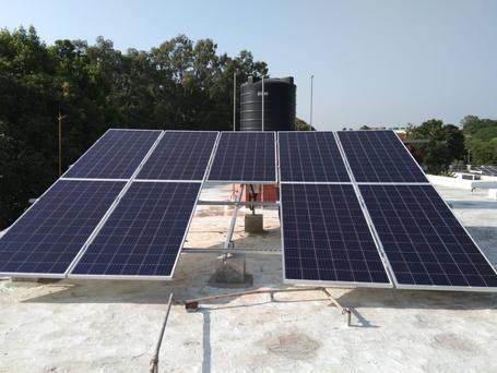 3kW Solar Plant