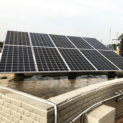 3kW Solar Pv Plant