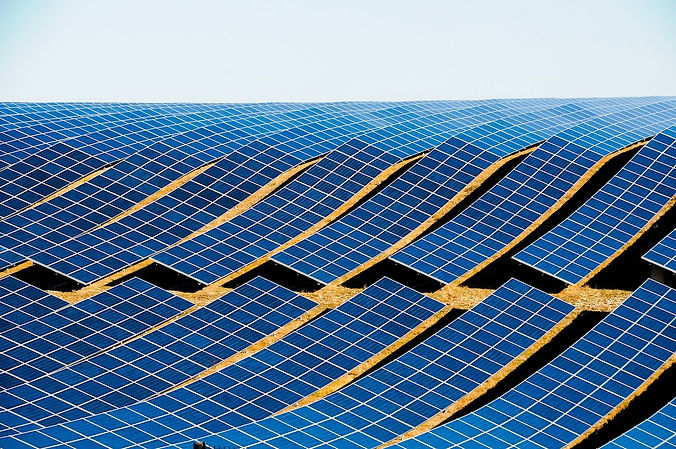 Ground Mounted Solar modules