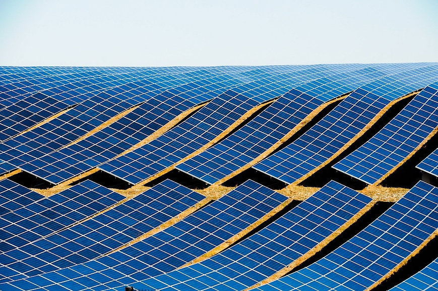 Ground Mounted Solar modules