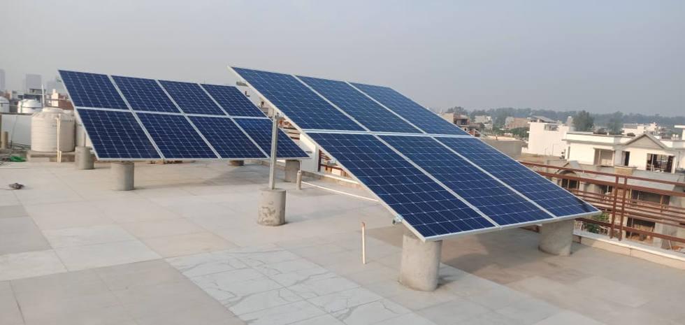 5kW Solar Plant