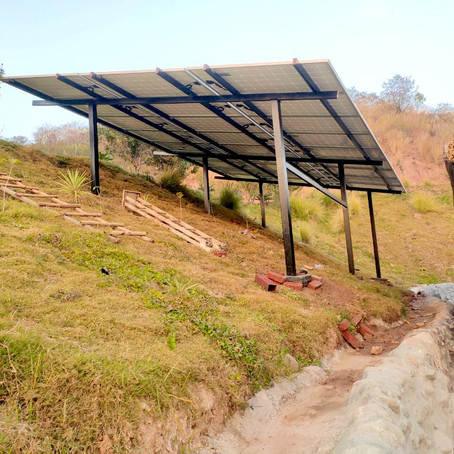 Case study: 10kW Ongrid Solar plant at a remote location