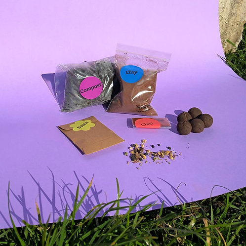 Seed Bomb Craft Kit