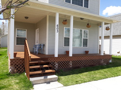 Finished House Front Facelift