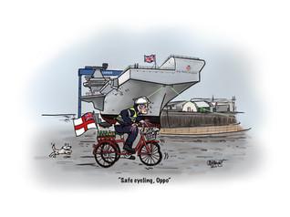 Royal Navy Leaving Gift