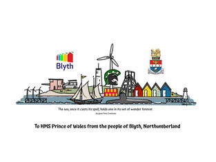 Gift to the HMS Prince of Wales