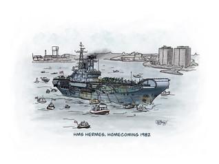 HMS Hermes Homecoming