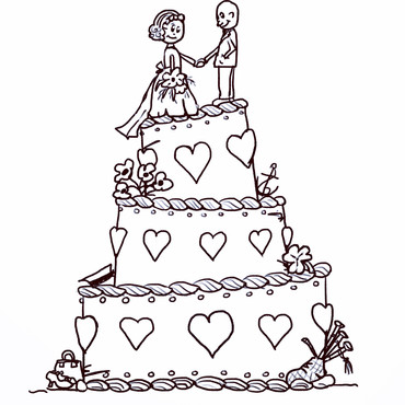 A Very Tasty Cake Design