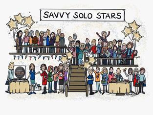 Savvy's Christmas Card 2018