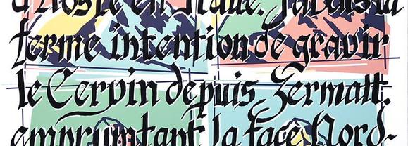 Le Cervin par Yvan Hostettler