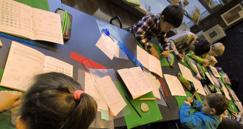 Atelier d'écriture à la FMB