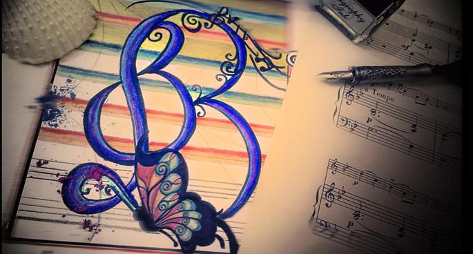 "Projet lettrine ""Beethoven"""