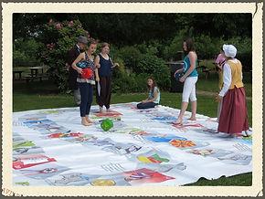 le week-end du 29,30 et 31 mai c'était la fête du bicentenaire avec Ecogia.