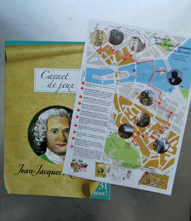 Parcours Jean-Jacques Rousseau